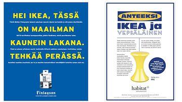 IKEA FINLAYSON HABITAT MAINOKSET