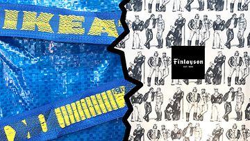 Ikea vs Finlayson