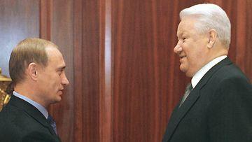 Putin ja Jeltsin 0908