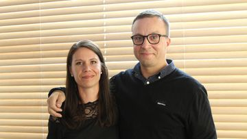 Sari ja Antti Ensitreffit alttarilla -pressi 9.8.