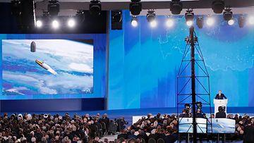 Putin esittelee ohjussuunnitelmia 2