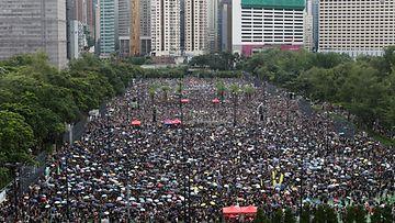 Hongkong mielenosoitus EPA