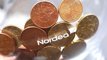 Nordea säästöpossu raha pankki AOP