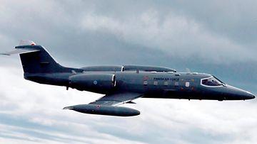 Kuva: Ilmavoimat Learjet 35 A/S -kone.