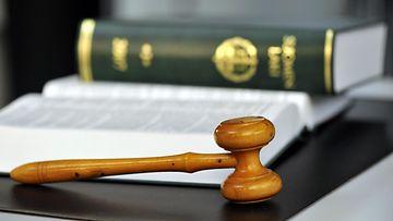 LK laki, tuomarit, nuija