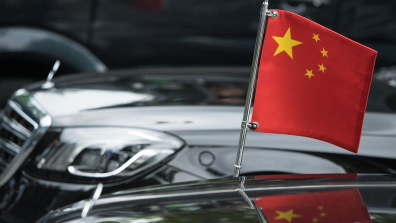 AOP Kiina, lippu