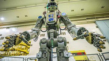 LK Venäjän Fedor-robotti