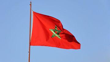 aop Marokko, lippu
