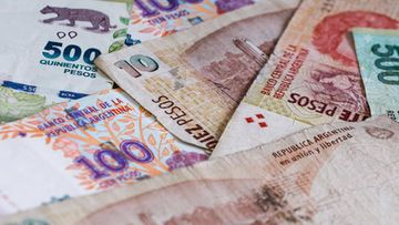 Argentiina peso
