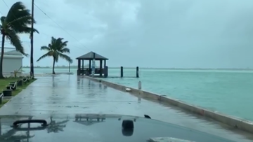 Dorian-hurrikaani-CNN