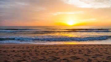 auringonlasku, phuket, ranta