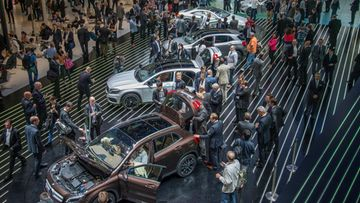 frankfurt autonäyttely