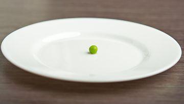 herne lautasella