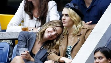 Cara Delevingne ja Ashley Benson US Open syyskuu 2019