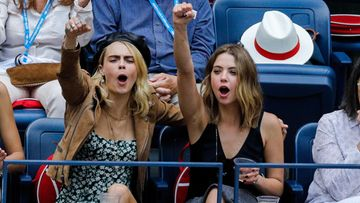 Cara Delevingne ja Ashley Benson US Open syyskuu 2019 (3)