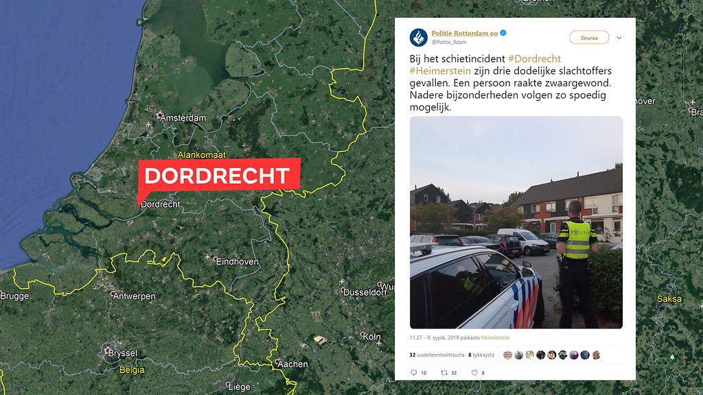 Media Hollannin Dordrechtin Ampumavalikohtaus Oli Perhetragedia