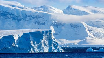 AOP antarktis, jäätikkö