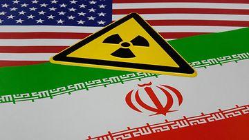 AOP Usa Iran ydinsopimus kuvitus