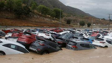 Orihuela Espanja myrsky