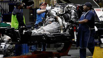 LK General Motors tehdastyöntekijä