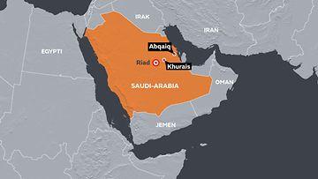 Saudi-Arabia Khurais Abqaiq