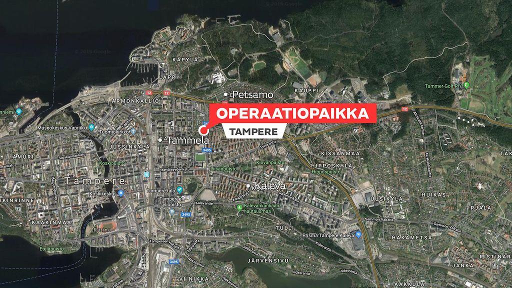 Poliisi Niukkasanainen Tampereen Isosta Poliisioperaatiosta