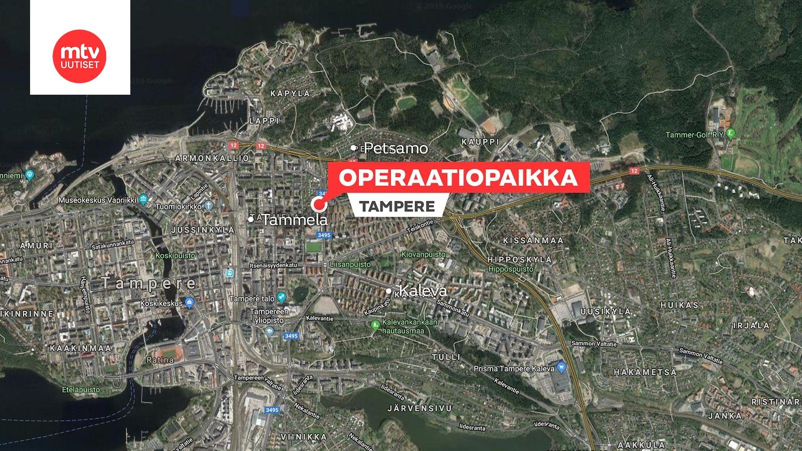 Kolme Nuorta Miesta Vangittu Tampereen Kullervonkadun Tapauksessa
