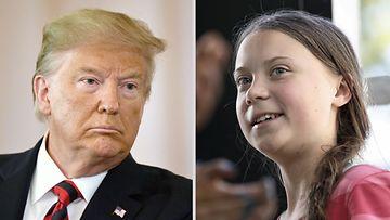 Donald Trump - Greta Thunberg