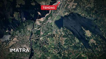 Imatra-kartta-Stora-Enso-Kaukopää-tehdas