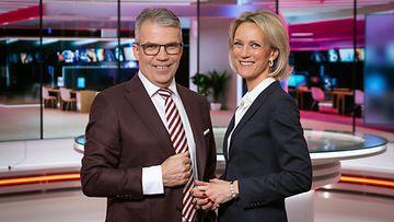 MTV Uutiset uutisstudio toimitus uutislähetys Keijo Leppänen Maija Lehmusvirta 3