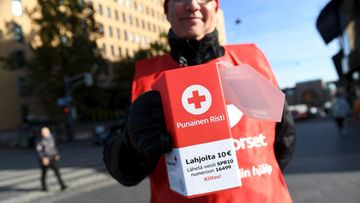 Punainen Risti, lipaskeräys
