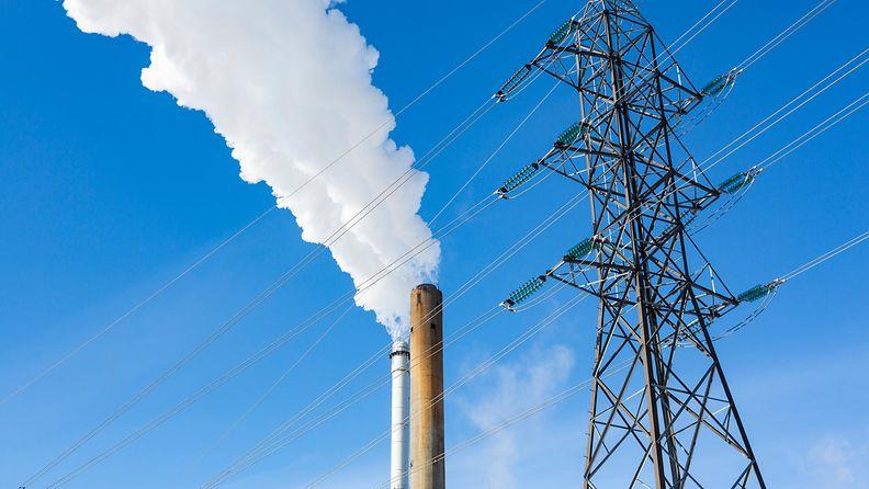 AOP, päästöt, ilmastonmuutos, voimala