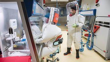 ebola laboratorio