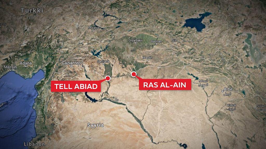 Bloombergin Lahde Turkin Armeijan Joukkoja Tunkeutunut Syyriaan