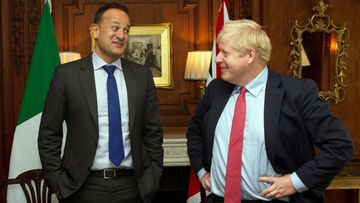 Leo Varadkar ja Boris Johnson 10.10.2019