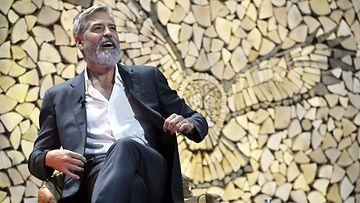 George Clooney Helsinki Messukeskus 10.10.2019 Nordic Business Forum 2