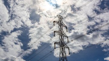 sähköverkko kuvituskuva sähkö