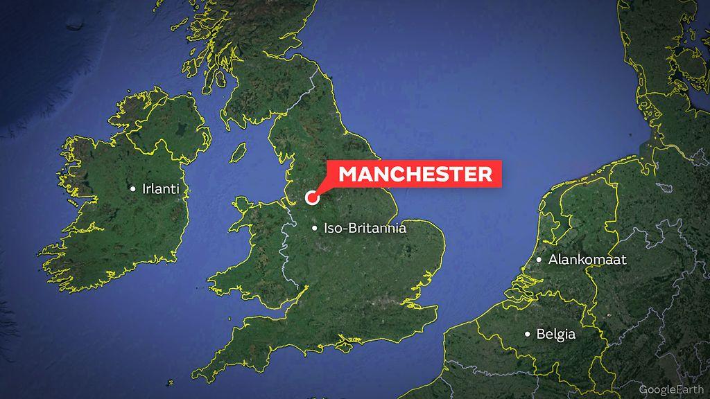 Yksi Otettu Kiinni Epailtyna Puukkoiskusta Manchesterissa Video