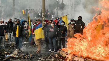 Ecuador protestit LK