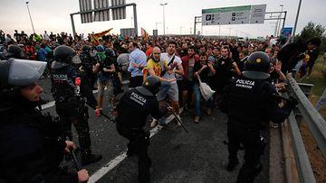 LK, Barcelona, mielenosoitus, Espanja