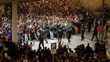 LK, Barcelona, mielenosoitus, Espanja8