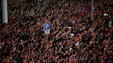 EPA, Barcelona, mielenosoitus, Espanja2