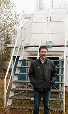 Revontulitutkija Shin-ichiro Oyama.