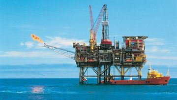 AOP öljynporauslautta Shell