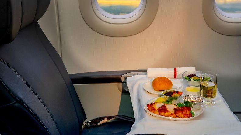 Lentokoneruoka lentokone ruoka