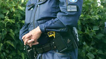 poliisi Taser etälamautin kuvituskuva