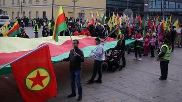 Rojavan puolesta -mielenosoitus