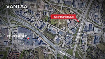 Vantaa-kolari-kartta-tammiston-kauppatie-manttaalitie