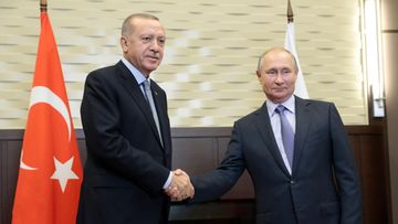 LK: Vladimir Putin ja Turkin presidentti Recep