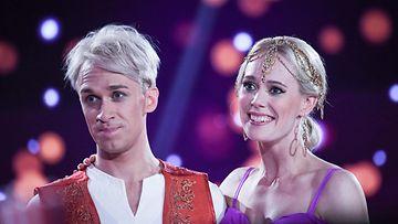 Christoffer Strandberg ja Jutta Helenius Tanssii Tähtien Kanssa 20.10.2019